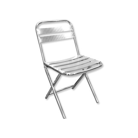 Pack de 4 sillas plegables de aluminio Bolero