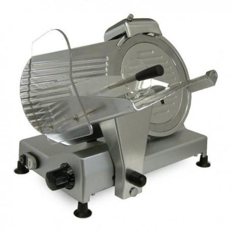 Cortadora de fiambre de cuchilla de 25 cm. de diámetro con gran potencia: 250 W