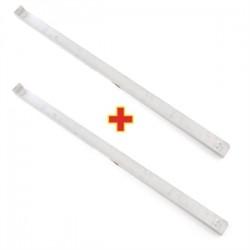 Juego soportes para estanterías de frigoríficos y congeladores ref: NE-G603, NE-G606, y NE-G607