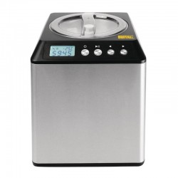 Máquina para hacer helados 2 litros, vista frontal.