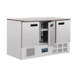 Refrigerador compacto de 3 puertas para mostrador Polar