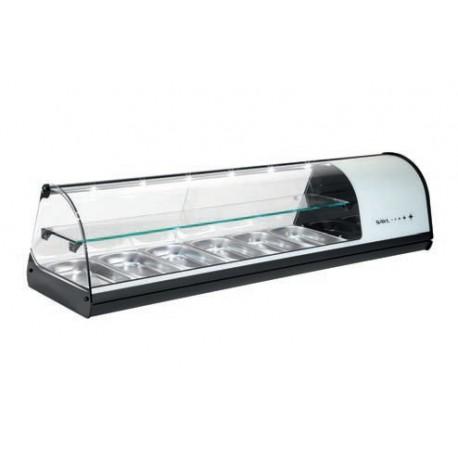Vitrina refrigerada de sobremesa 4 bandejas Sayl Modelo dos pisos V24B