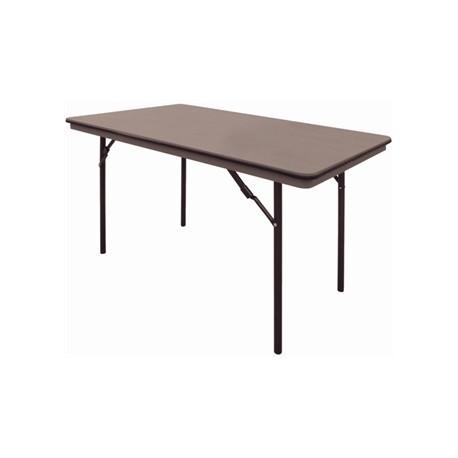 Mesa rectangular plegable para banquete Bolero - 122cm