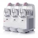 Máquina de helado soft mini gel con 3 depósitos de 6 litros de capacidad