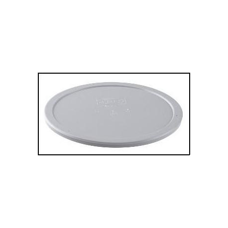 Tapa hermética para plato hondo de policarbonato de 700 cc.