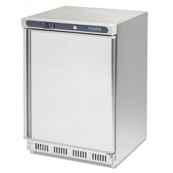 Congelador bajo mostrador 140 litros acero inoxidable