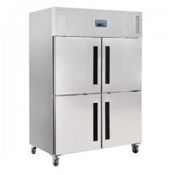 Armario frigorífico de cuatro puertas