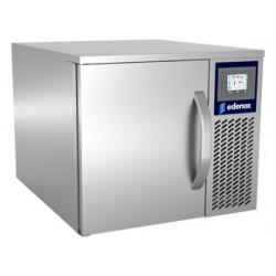 Abatidor de temperatura - congelador compacto Edesa con capacidad 3 GN 1/1 y panel Fast