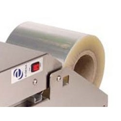 Bobina de film transparente (ancho 150 mm) de 300 m de longitud