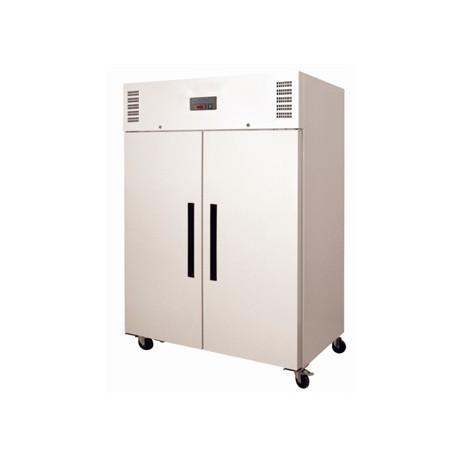 Congelador con doble puerta maciza lacado blanco de 1200 litros Polar